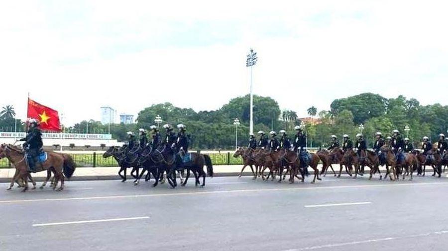 Lực lượng Cảnh sát cơ động kỵ binh sẽ diễu hành, báo cáo kết quả trước đại biểu Quốc hội