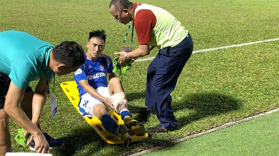 Cầu thủ Hải Huy nguy cơ mất sự nghiệp sau pha phạm lỗi rợn người