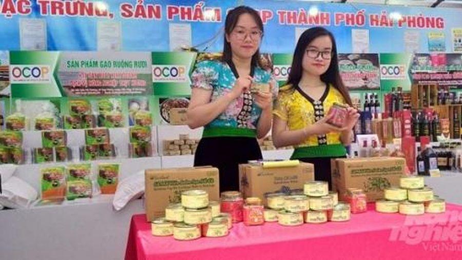 Tuần lễ hàng nông sản an toàn Sơn La tại Hải Phòng