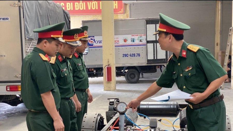 Những sản phẩm phục vụ huấn luyện kỹ thuật xe-máy