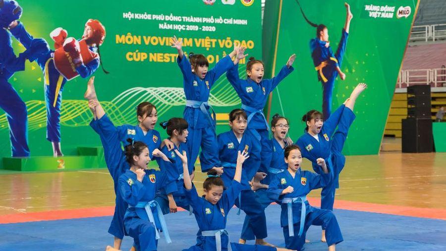 Khai mạc giải Hội khỏe Phù Đổng môn vovinam Việt Võ Đạo- Cup Nestle Milo lần thứ 3