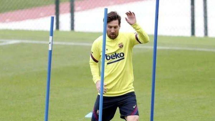 Messi bất ngờ dính chấn thương trước ngày trở lại của La Liga