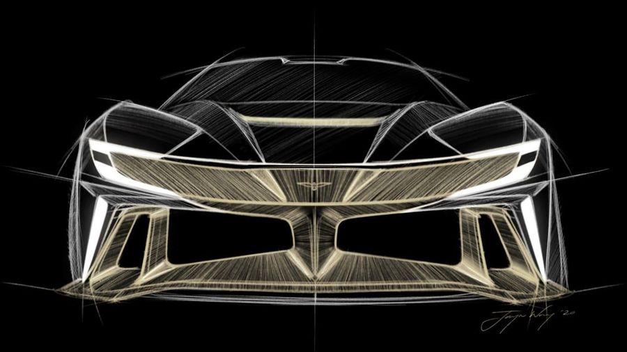 Naran Hypercar động cơ giữa công suất 1.034 mã lực