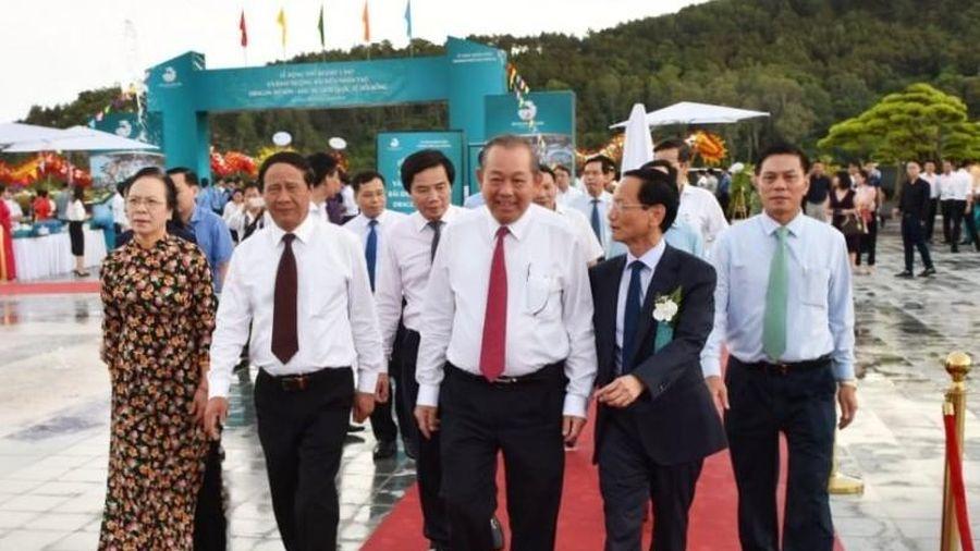 Hải Phòng: Phó Thủ tướng Trương Hòa Bình dự lễ khánh thành bãi biển nhân tạo Dragon Đồ Sơn