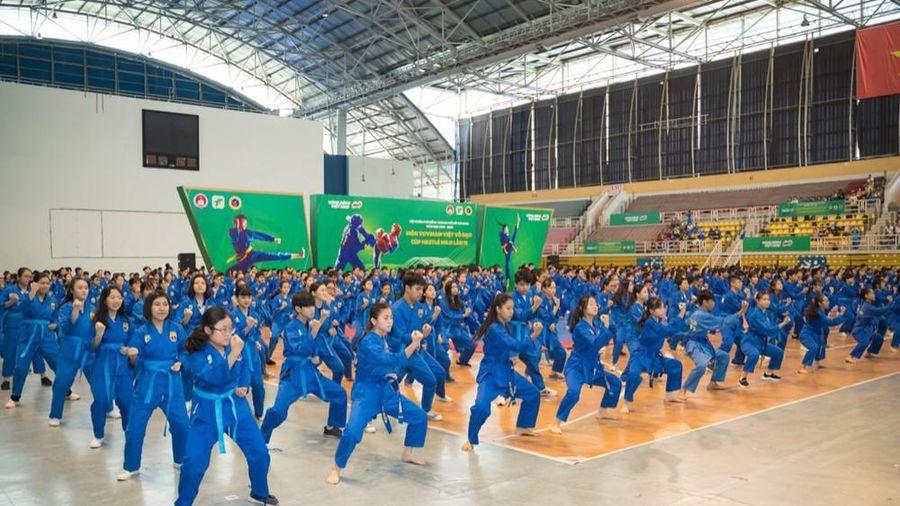 Hơn 1600 học sinh TP.HCM tham gia 'đi đường quyền' trong Hội Khỏe Phù Đổng