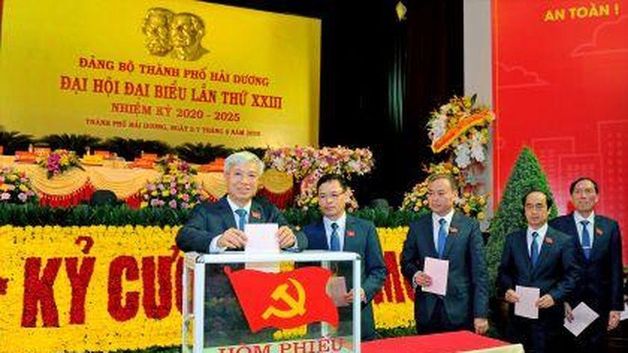 Đại hội đại biểu Đảng bộ TP. Hải Dương lần thứ XXIII, nhiệm kỳ 2020-2025 thành công tốt đẹp