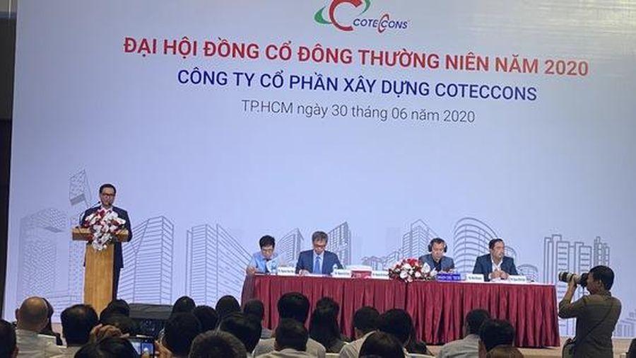 Đại hội cổ đông Coteccons, Chủ tịch HĐQT Nguyễn Bá Dương xin lỗi