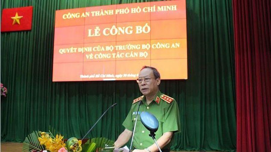 Đại tá Lê Hồng Nam giữ chức vụ Giám đốc Công an TPHCM từ ngày 1-7-2020