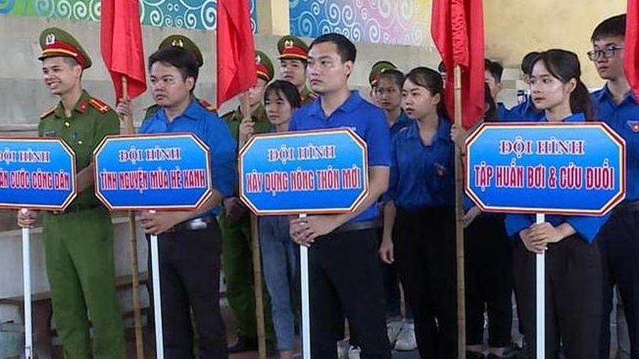 Tuổi trẻ Ứng Hòa ra quân các đội tình nguyện ở nhiều lĩnh vực