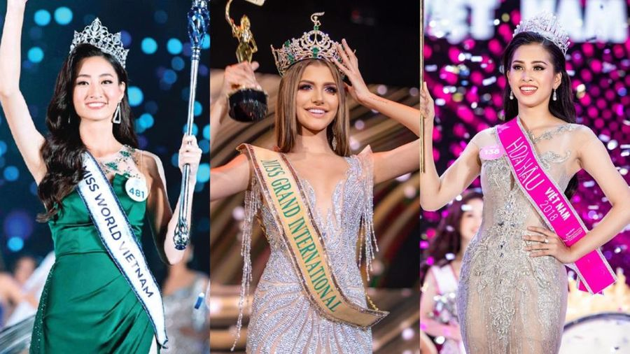 Đương kim Hoa hậu sinh năm 2000: Tiểu Vy - Thùy Linh đẹp từ trứng nước, hoa hậu Venezuela bị ví như tượng sáp