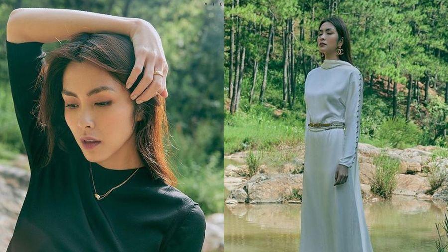 Tăng Thanh Hà khoe thần thái đỉnh cao, xứng danh 'ngọc nữ' trong bộ ảnh chụp tại Đà Lạt