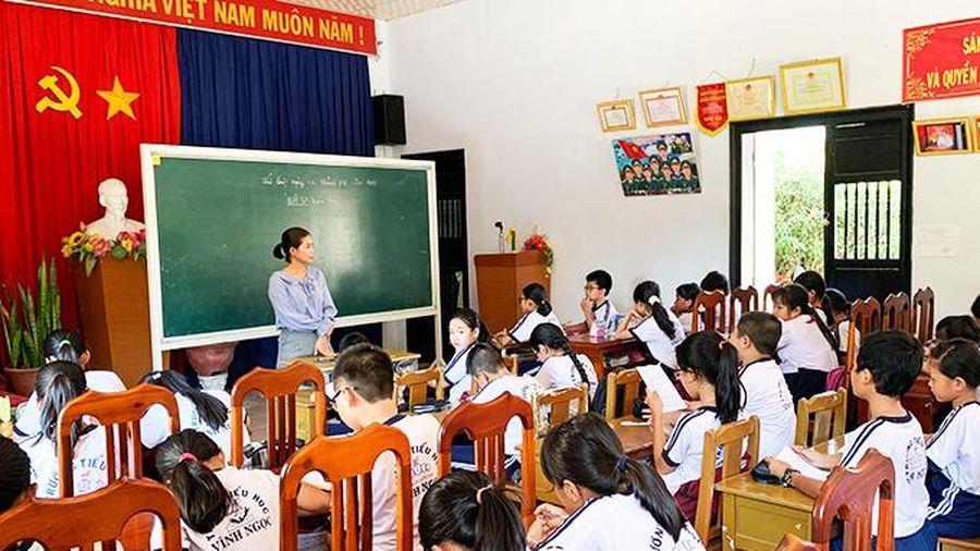 Xã Vĩnh Ngọc: Trường tiểu học thiếu phòng