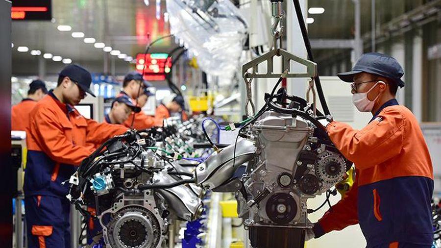 Hoạt động sản xuất tại Trung Quốc tăng tháng thứ 2 liên tiếp