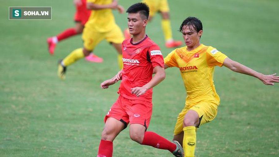 U22 Việt Nam đấu tập: Thiếu người đá vì cầu thủ đuối sức, sơ đồ 'tủ' của HLV Park bại trận