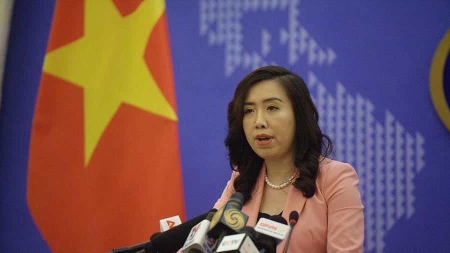 Việt Nam lên tiếng về việc Trung Quốc ban hành Luật Bảo vệ an ninh quốc gia tại Hồng Kông