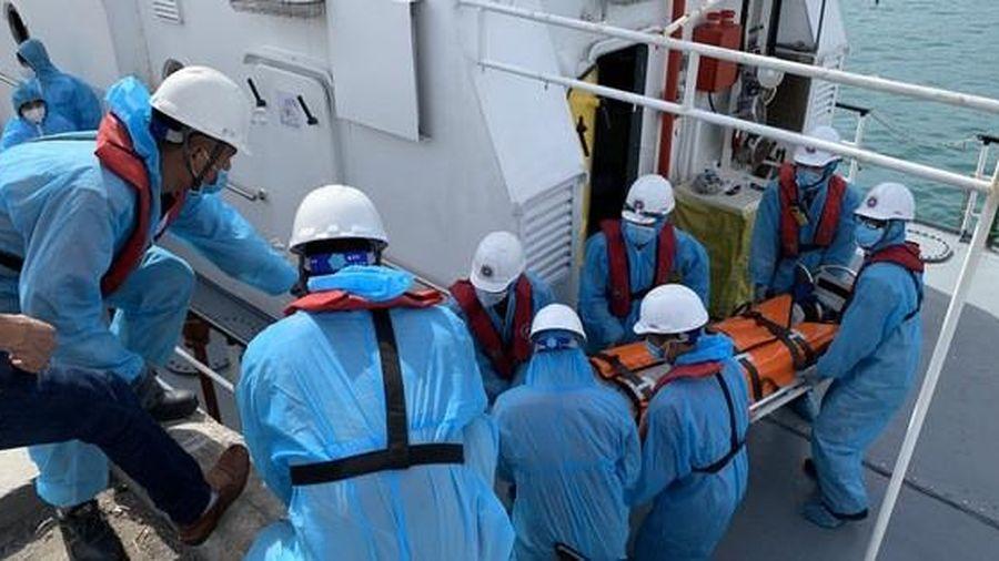 Khánh Hòa: Cứu nạn kịp thời thuyền viên Ukraine