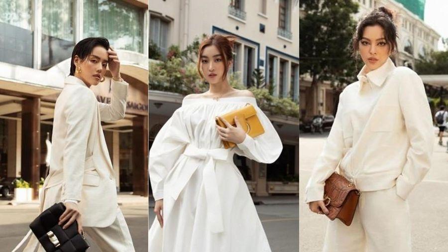 Đỗ Mỹ Linh, Tiểu Vy, Châu Bùi, Tú Hảo đua nhau khoe dáng với 'It Bag'