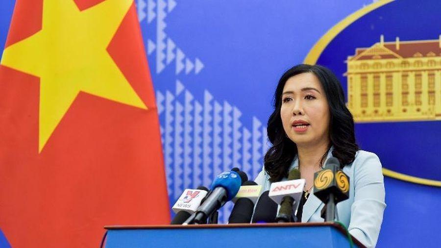 Trung Quốc tiến hành tập trận ở khu vực quần đảo Hoàng Sa đã vi phạm chủ quyền của Việt Nam