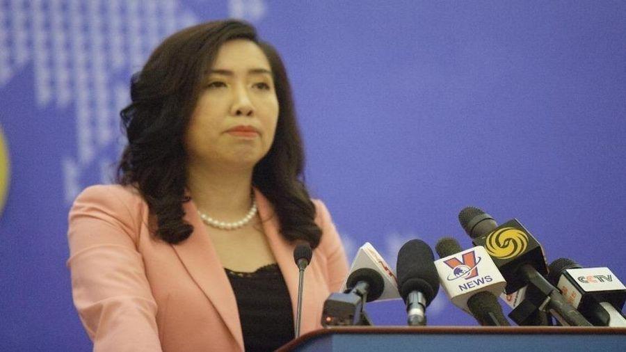 Trung Quốc tập trận ở khu vực quần đảo Hoàng Sa đã vi phạm chủ quyền của Việt Nam