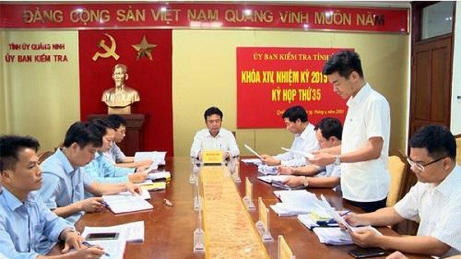 Quảng Ninh kỷ luật 3 lãnh đạo TP Cẩm Phả do vi phạm trong quản lý đất đai và GPMB