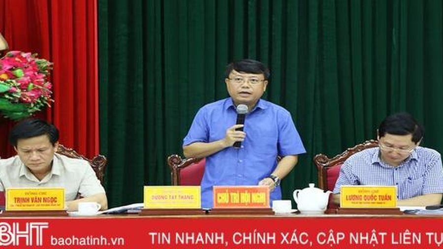 Thành phố Hà Tĩnh giới thiệu 11 nhân sự tham gia cấp ủy lần đầu