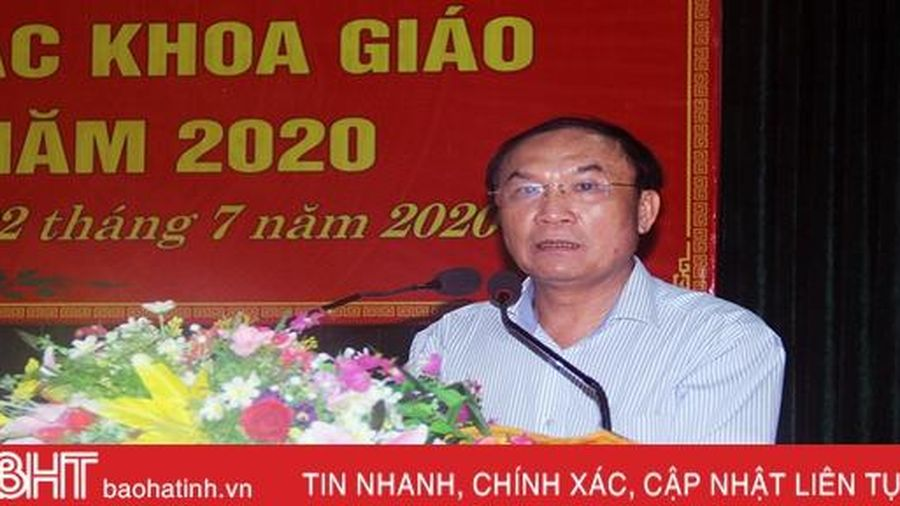 Hoạt động khoa giáo ở Hà Tĩnh được triển khai đồng bộ và hiệu quả
