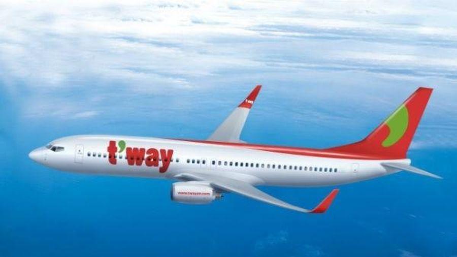 Tway Airlines sắp mở lại đường bay Thành phố Hồ Chí Minh-Incheon