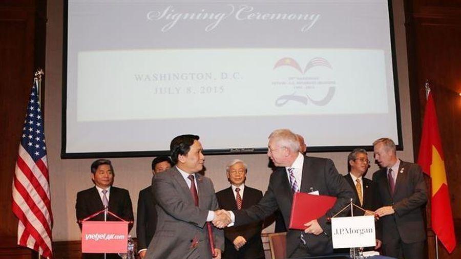 Thông tin về các hoạt động kỷ niệm 25 năm quan hệ Việt Nam-Hoa Kỳ