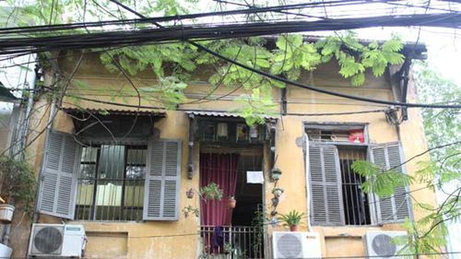 Hà Nội dừng cấp phép cải tạo, sửa chữa biệt thự cổ xây dựng trước năm 1945