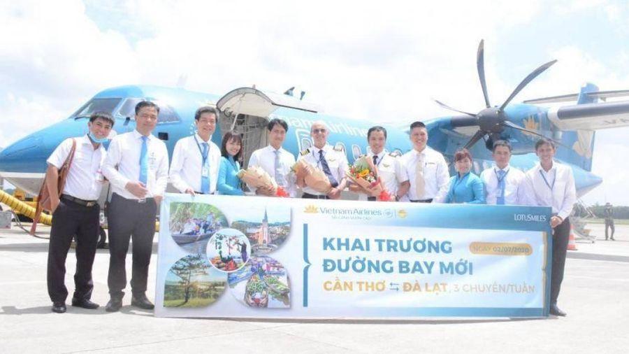 Vietnam Airlines chính thức khai thác đường bay Cần Thơ - Đà Lạt