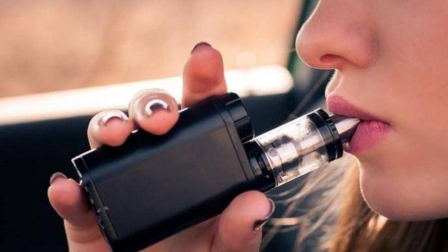 Sử dụng thuốc lá điện tử ở Việt Nam có xu hướng gia tăng