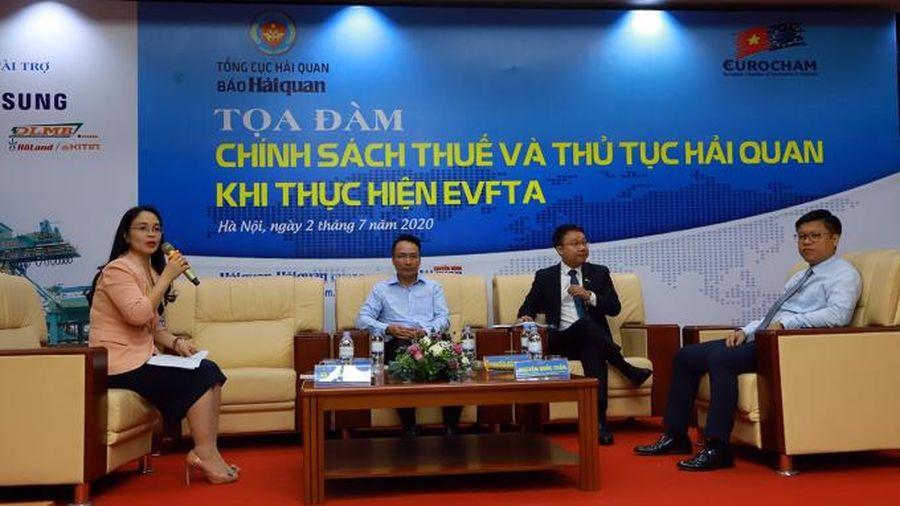 Ngành Hải quan sẽ tạo thuận lợi cho doanh nghiệp khi khi thực hiện EVFTA