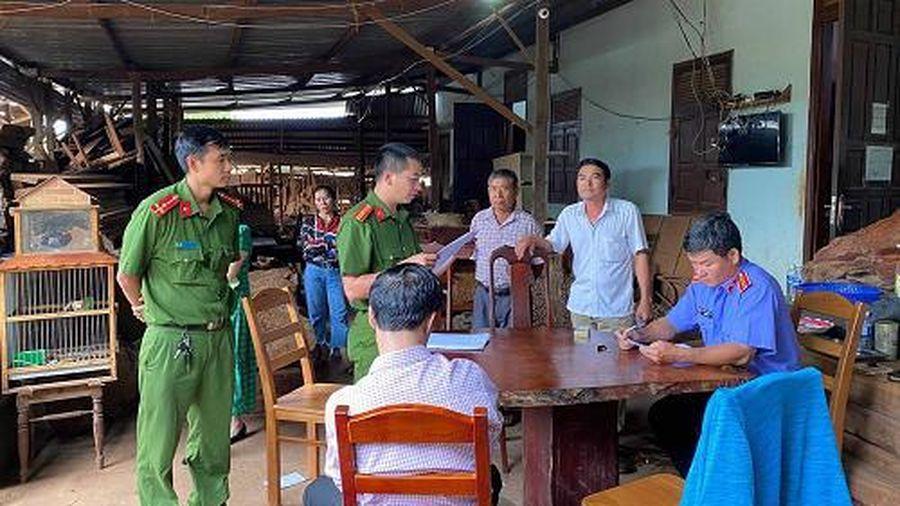 Gia Lai: Bắt tạm giam chủ doanh nghiệp gỗ