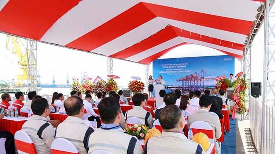 Quảng Ngãi: Doosan Vina xuất 2 cẩu trục RMQC lớn nhất đến cảng quốc tế Gemalink, tỉnh Bà Rịa - Vũng Tàu