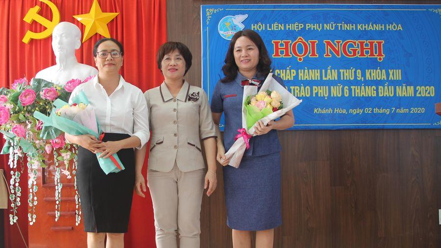 Bầu bổ sung 2 Phó Chủ tịch Hội Liên hiệp Phụ nữ tỉnh Khánh Hòa