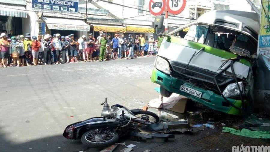 Tài xế xe buýt tăng huyết áp, lạng tay lái khiến 3 người tử vong ở Bạc Liêu