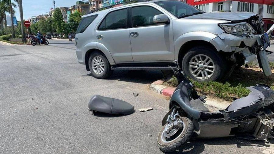 Nạn nhân vụ tai nạn bị xe biển xanh Nghệ An tông qua cơn nguy kịch