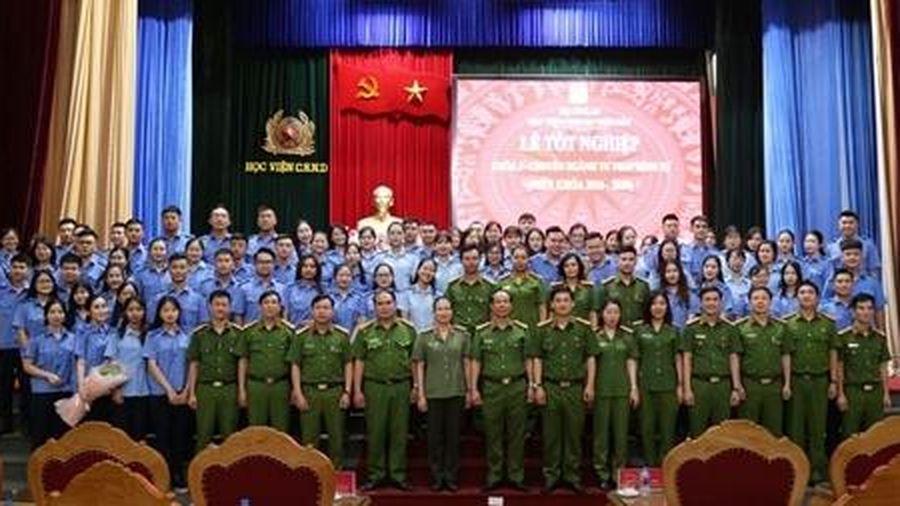 138 sinh viên tốt nghiệp ngành Tư Pháp hình sự, Học viện CSND