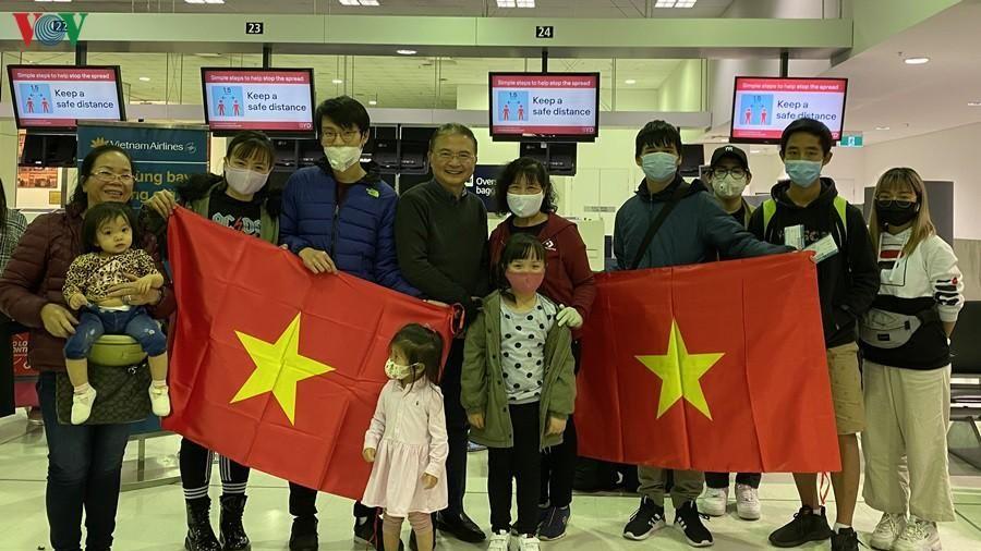 Di chuyển công dân đến Sydney để về Việt Nam trên chuyến bay 3/7