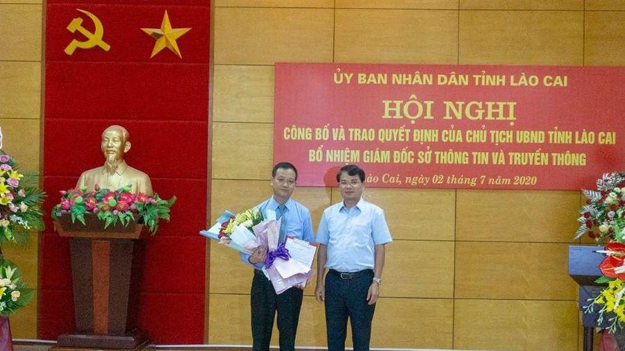 Sở Thông tin và Truyền thông tỉnh Lào Cai có Giám đốc mới