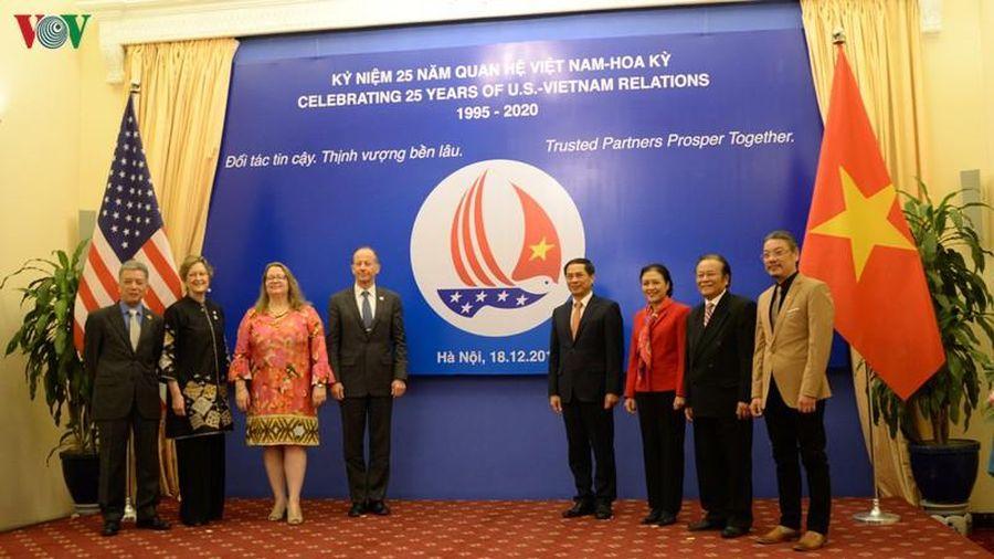 Quan hệ Việt Nam-Hoa Kỳ chứng kiến bước phát triển tích cực qua 25 năm