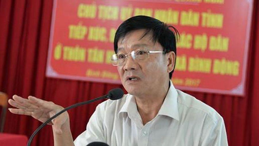 Chủ tịch Quảng Ngãi Trần Ngọc Căng nghỉ hưu trước tuổi