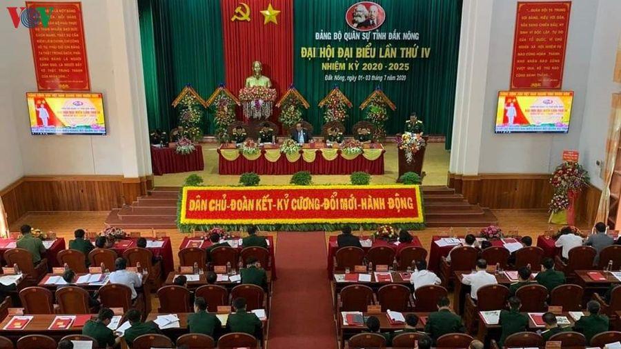 Đảng bộ Quân sự tỉnh Đắk Nông có Ban Chấp hành mới