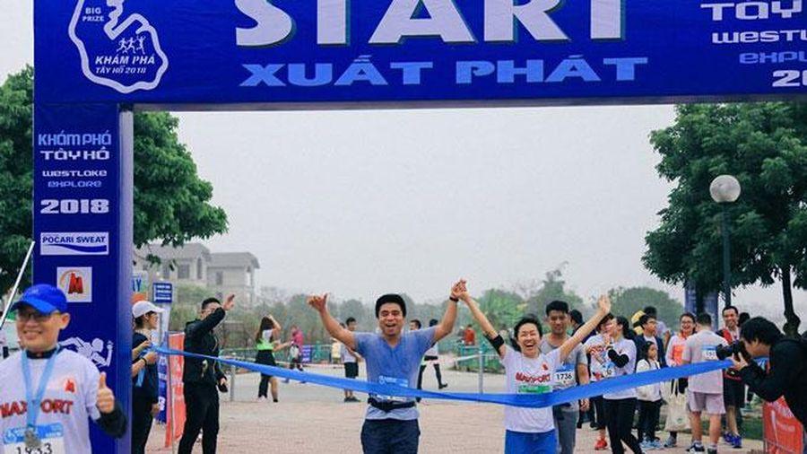 Giải chạy Tay Ho Half Marathon 2020 gây quỹ cho trẻ em nghèo