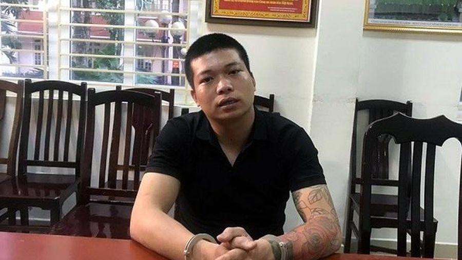 Khởi tố đối tượng cướp tiệm vàng Sông Giang