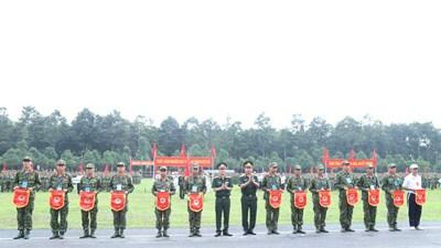 Quân đoàn 4 khai mạc Hội thao TDTT năm 2020