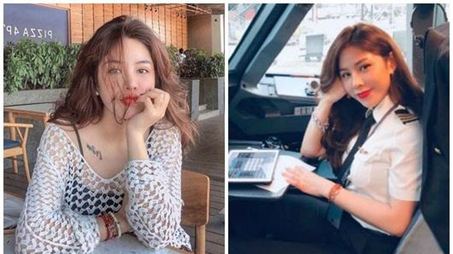 Ngắn nhan sắc cùng gu thời trang khác biệt của nữ cơ phó xinh đẹp nhất Việt Nam lúc ngoài buồng lái