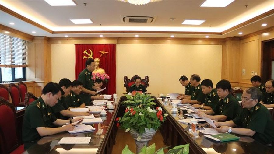 Thông qua Đề án Đại hội đại biểu Đảng bộ Bộ Tham mưu BĐBP