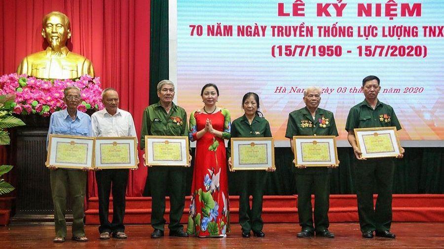 Hà Nam kỷ niệm 70 năm Ngày truyền thống lực lượng Thanh niên xung phong Việt Nam