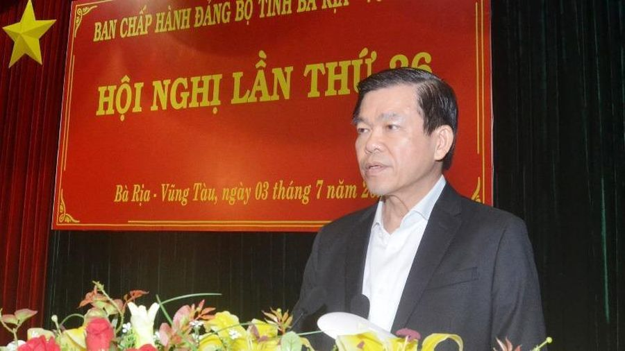 Xúc tiến chuẩn bị đề án nhân sự trình Đại hội Đảng bộ tỉnh Bà Rịa – Vũng Tàu